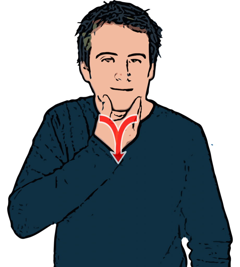 Man British Sign Language Dictionary British sign