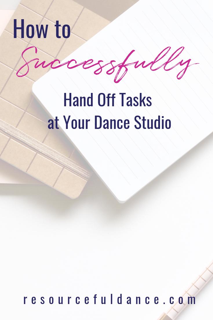 Delegating At A Dance Studio Resourceful Dance Dance Studio Dance School Fun To Be One