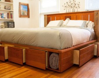 Capatin S Bed I Would Like A Backboard And Single Row Of Drawers