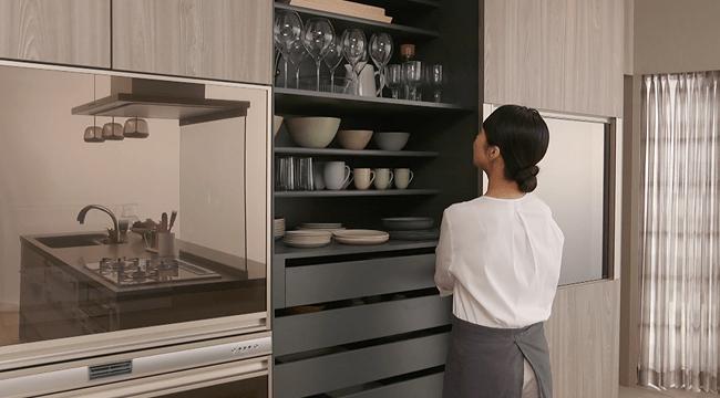 ボード キッチンデザイン のピン