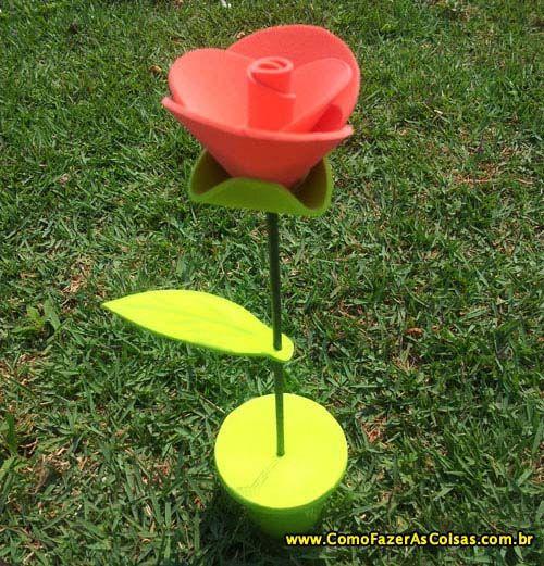 Armario Habitacion Infantil ~ Flor de EVA Artesanato Pinterest Artesanato facil de fazer, Flores de eva e Artesanatos fáceis