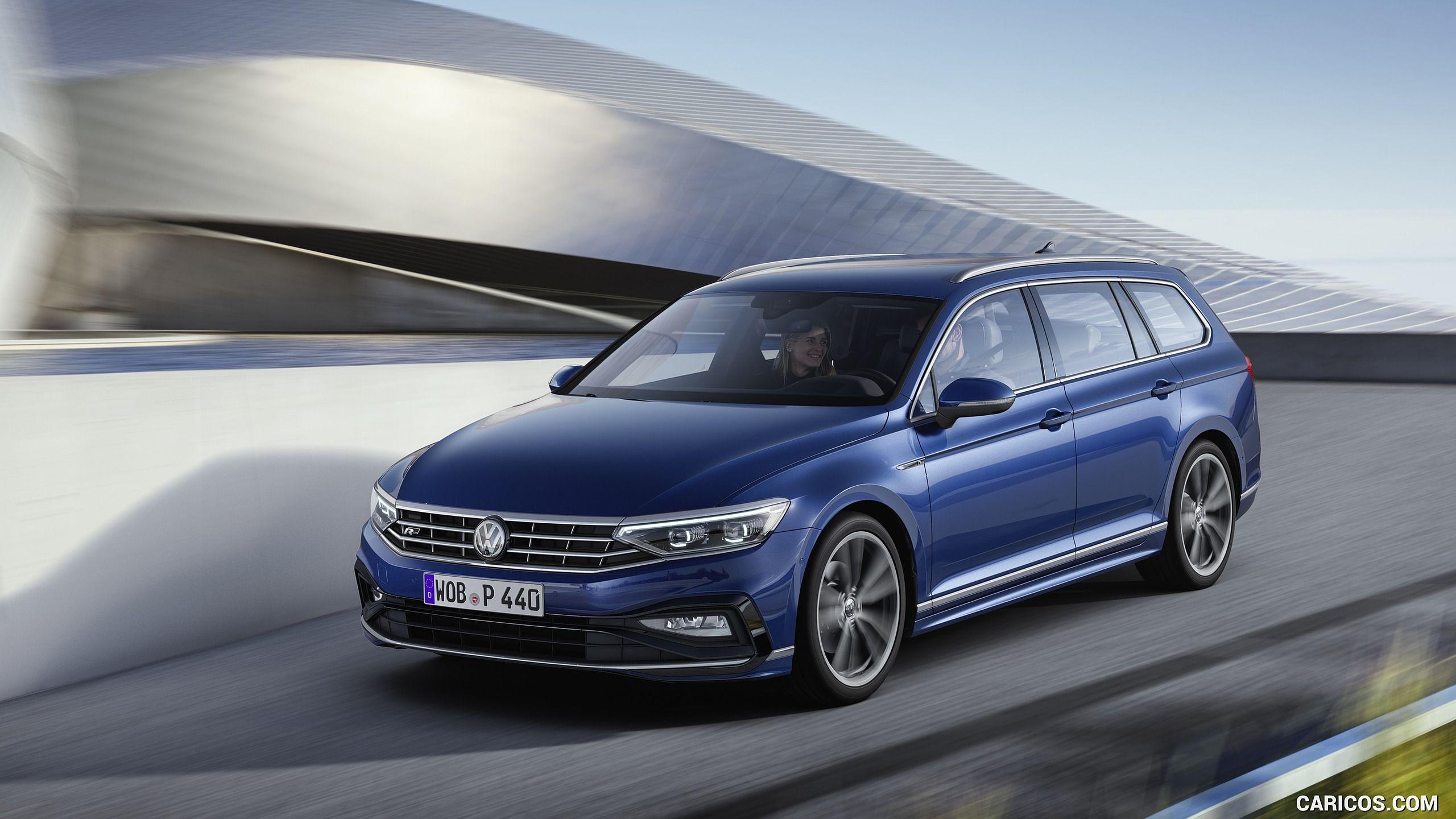 2020 Volkswagen Passat Variant Eu Spec Front Three Quarter Hd Volkswagen Passat Volkswagen Car Volkswagen