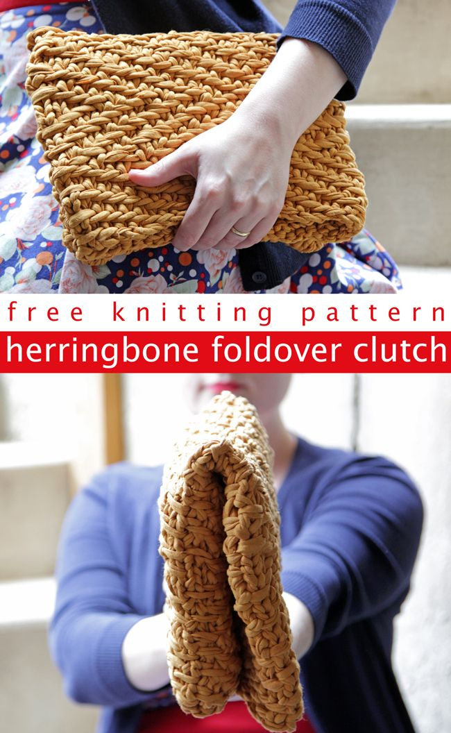 Get your hands on the free pattern to knit this versatile foldover ...