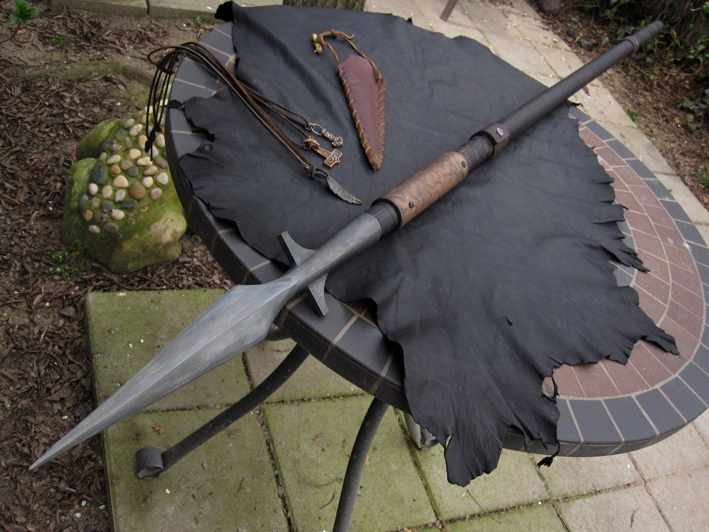 Viking spear By Mace Leather Works | Mace leather works