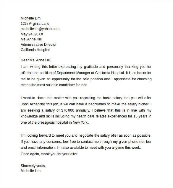 Mallainjulien Salary Proposal Letter C832d4c6 Resumesample Resumefor Lettering Letter Templates Job Letter