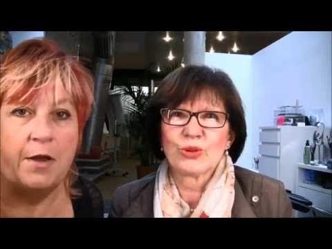 Augenbrauen stricheln bei Christa, Haarverdichtung - YouTube