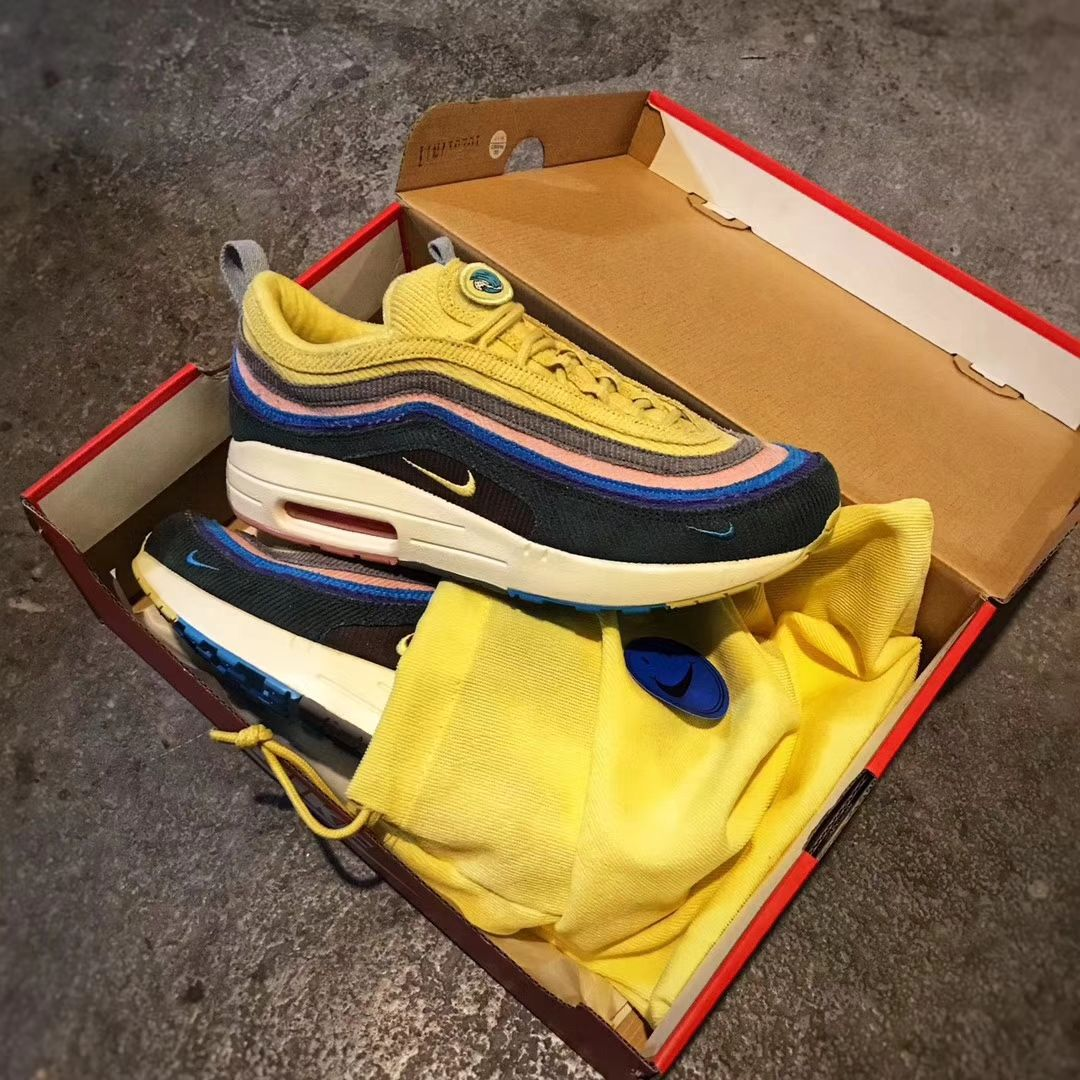 Sean Wotherspoon S Nike Air Max 97 1 Hybrid Aj4219 400 Best Sneakers Nike Air Max 97 Air Max 97