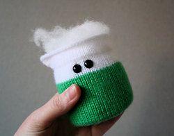 Set De Química Amigurumi Tejido A Crochet Matraz Vaso Tubo ... | 196x250