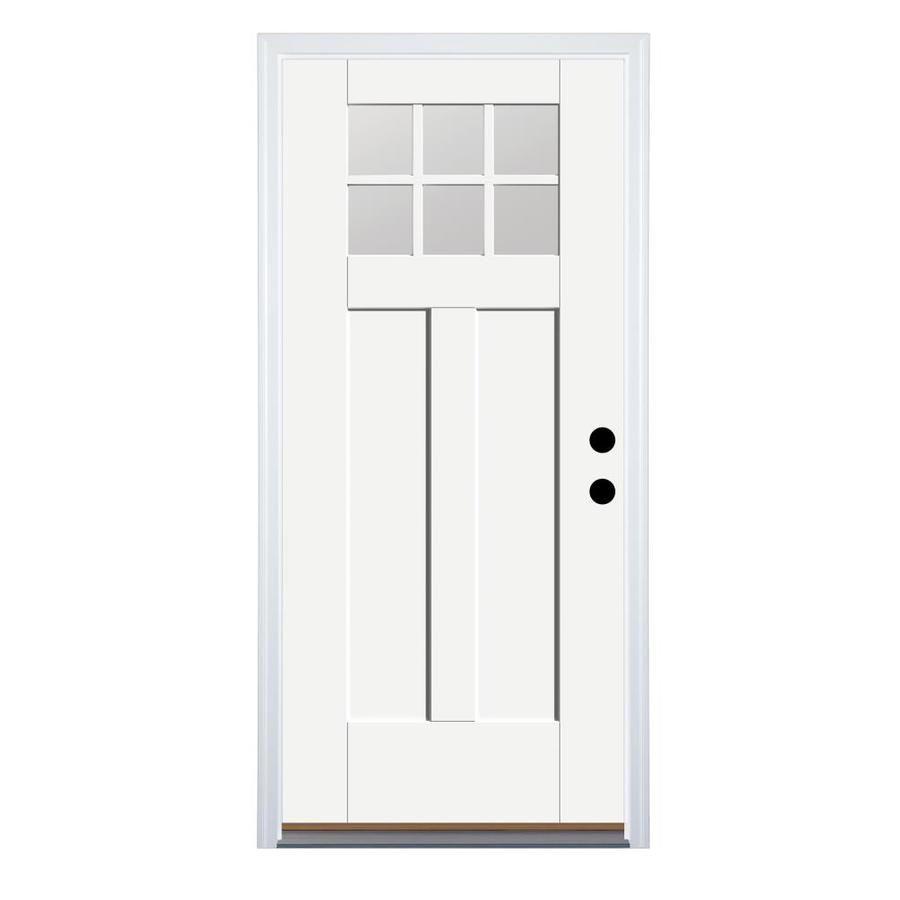 Therma Tru Benchmark Doors Left Hand Inswing Fiberglass Entry Door