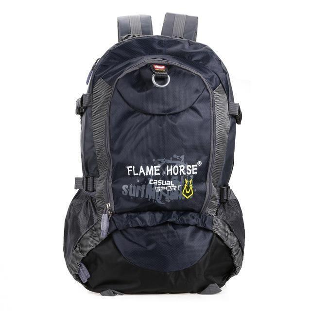 5fa322de68b8 30L Waterproof Nylon Hiking Camping Backpacks Outdoor Large Capacity Sports  Bags Mountaineering Women Men Travel Backpack