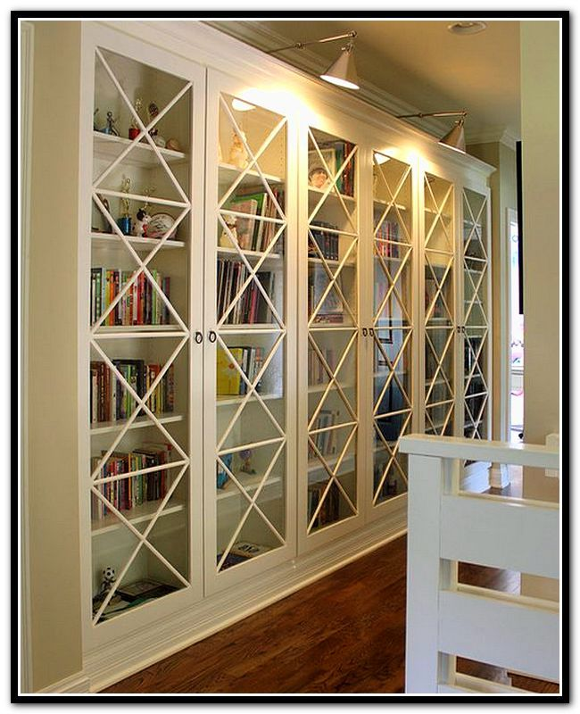 ikea billy bookcase doors australia | mh-living room | pinterest, Gestaltungsideen
