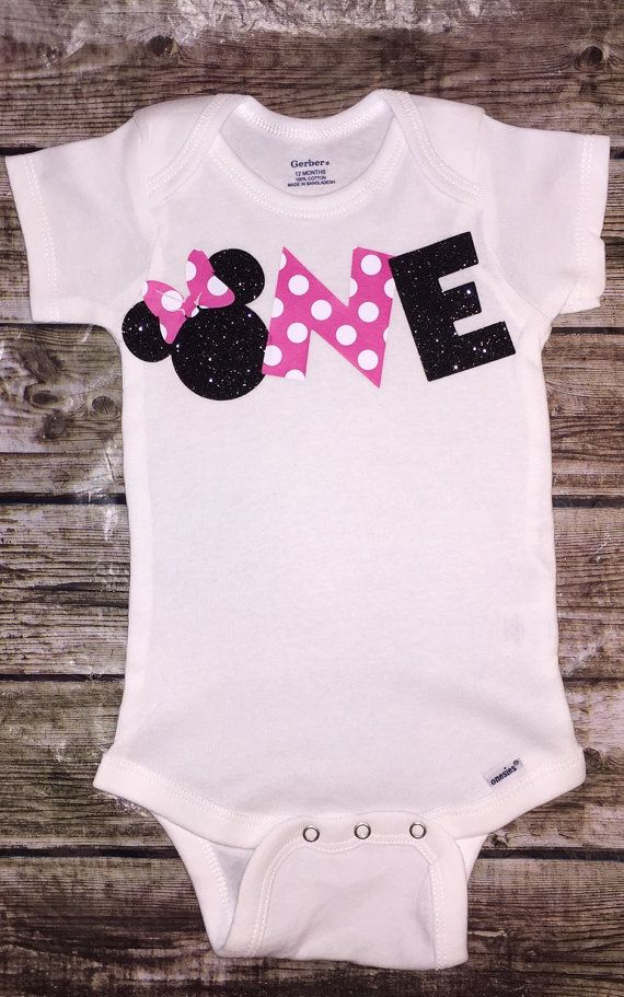 d32877cc1 First Birthday Onesie Baby Girl Minnie Mouse Smash by ALGDezigns ...