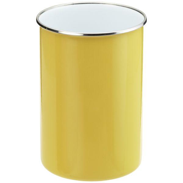 yellow utensil can | qt. Enamel Utensil Holder Yellow