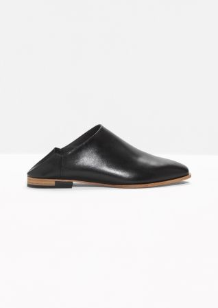 & OTHER STORIES Leather Slip Ons