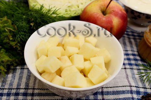 Салат скандинавский рецепт