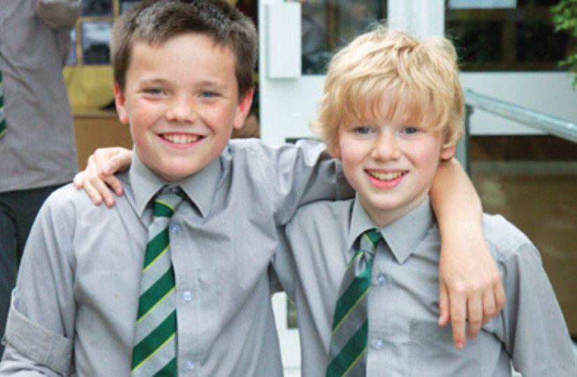 School uniforms - The old school tie. A key component of the school uniform.