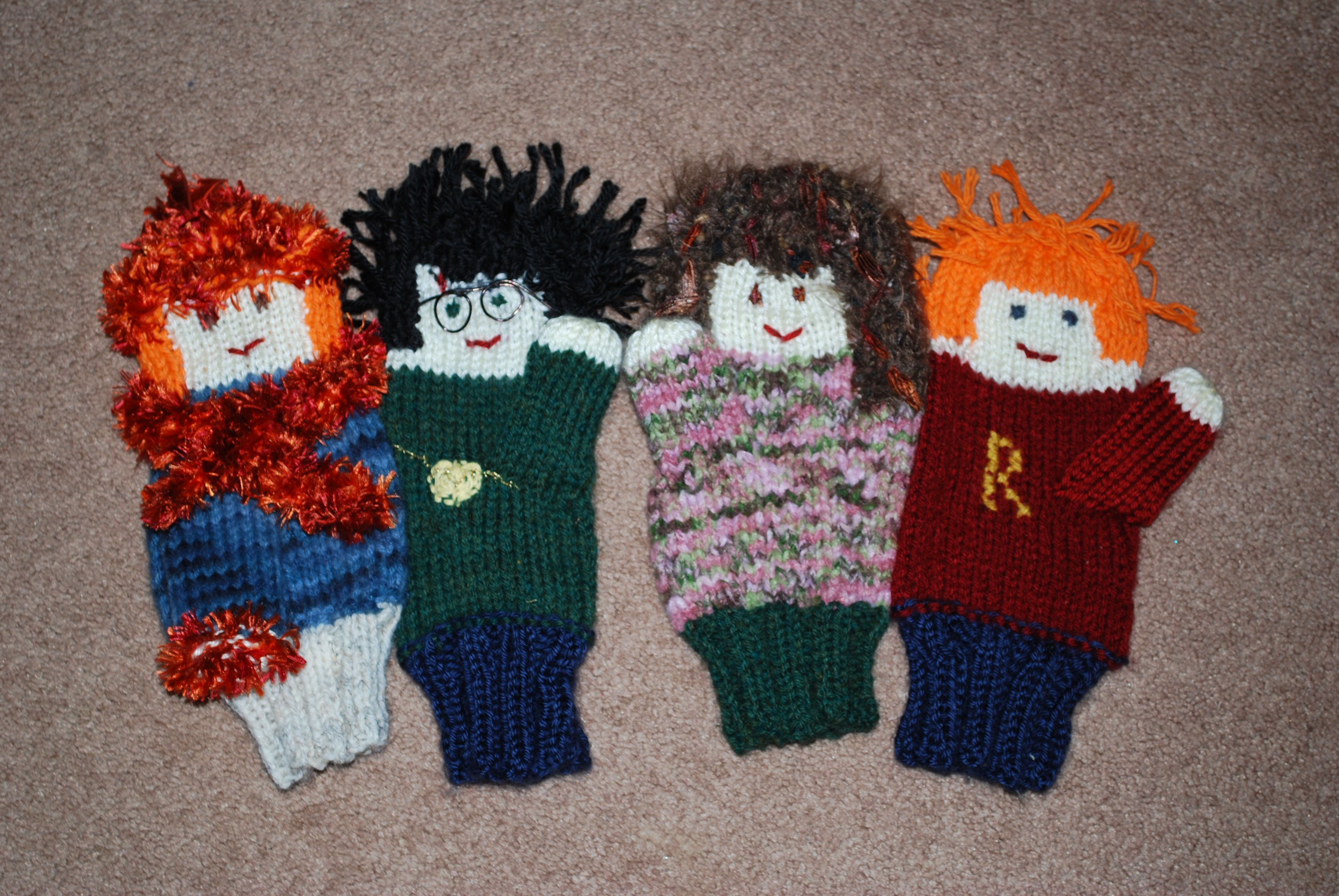 I can\'t believe I made these using the basic knitting pattern from ...
