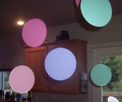 Baby Shower Decor Printables ~ Polka dot baby shower theme ideas with pictures and printables