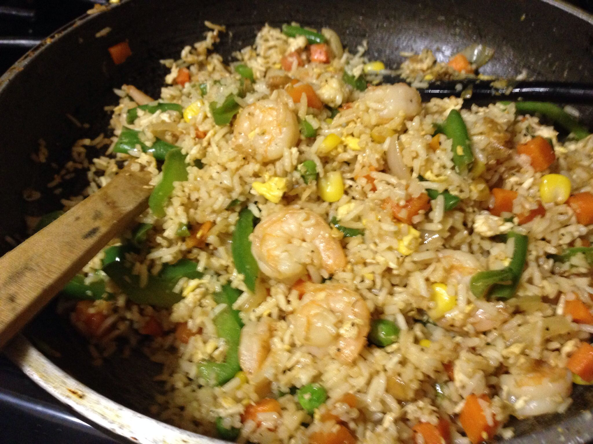 Shrimp fried brown rice so tasty and easy to make food porn shrimp fried brown rice so tasty and easy to make ccuart Image collections