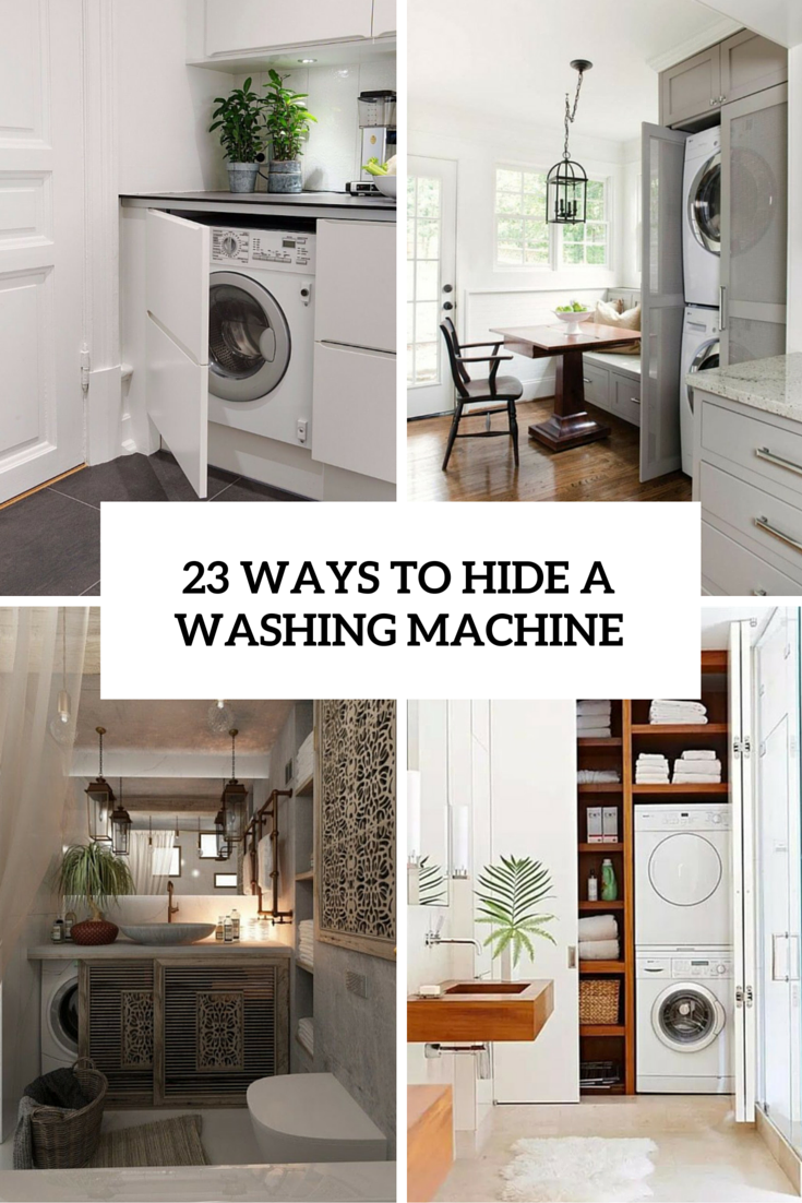 23 ways to hide a washing machine cover ways to hide a