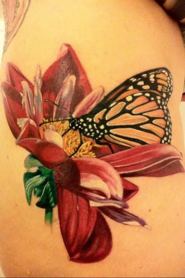 45+ Incredible 3D Butterfly Tattoos | Butterfly, 3d and Tattoo