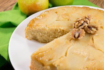 Starkrimson Pear Upside Down Cake