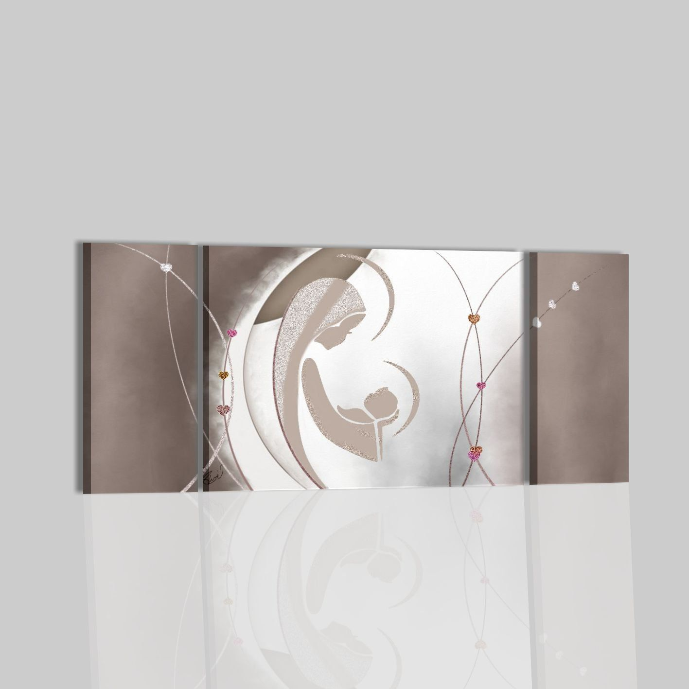 quadri moderni astratti sacri capezzali per camera da letto olio su