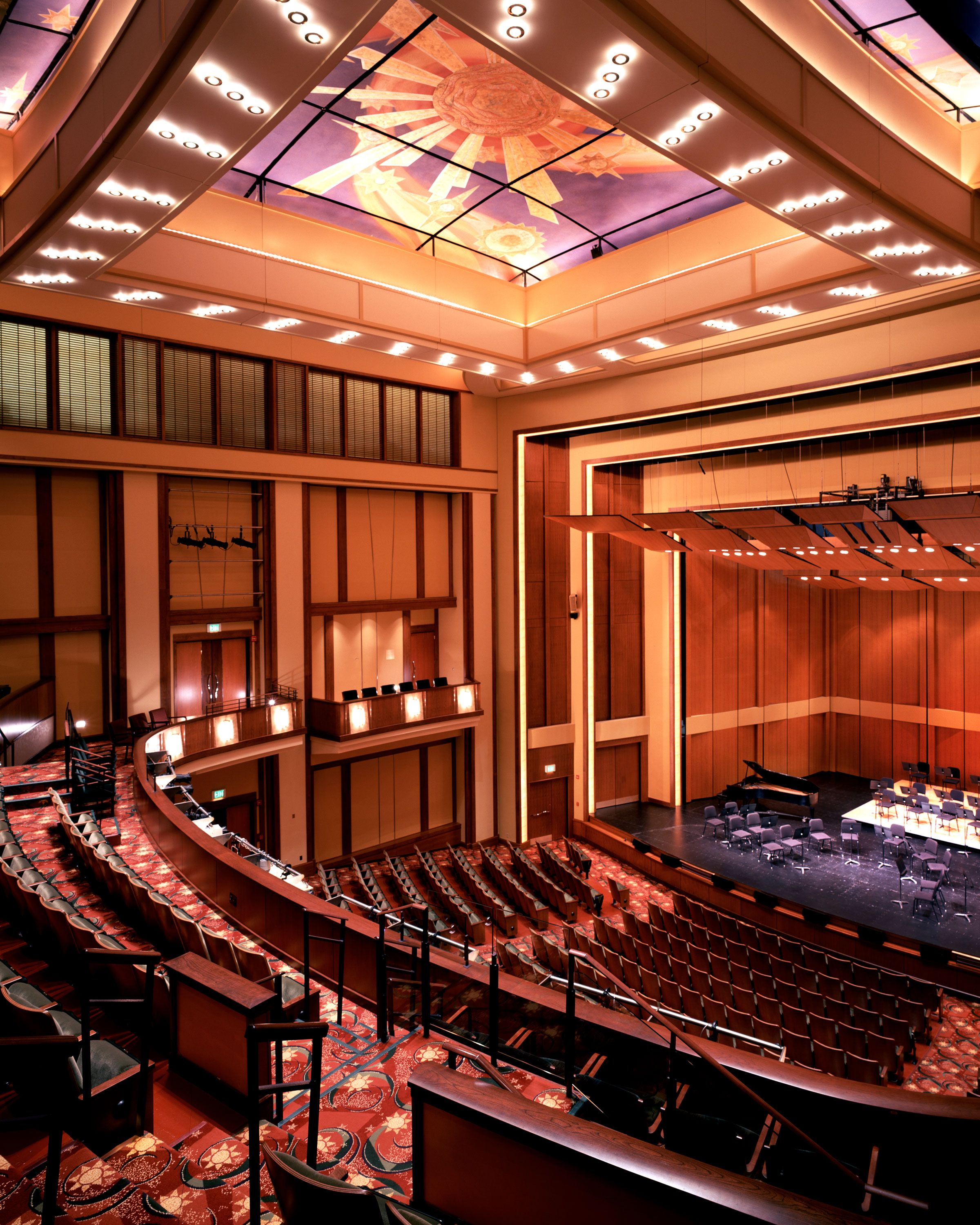design of Hartford s Maxwell M and Ruth R Belding Theater addition and the restoration