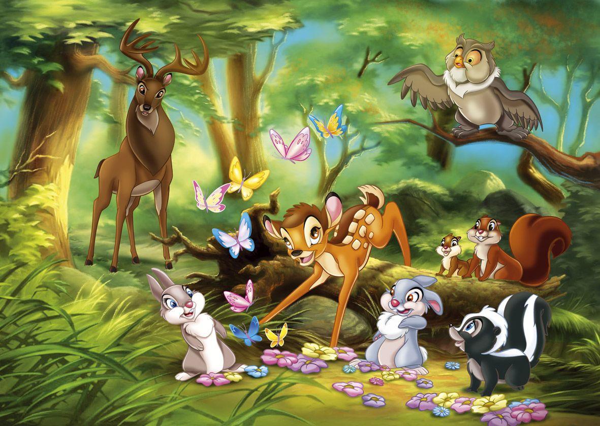 Anime Walt Disney Bambi HD Free Image Wallpaper Download