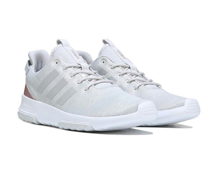 33599751f3c816 Adidas Women s Cloudfoam Racer TR Sneaker Grey 1 Grey 2 Vapour Grey ...