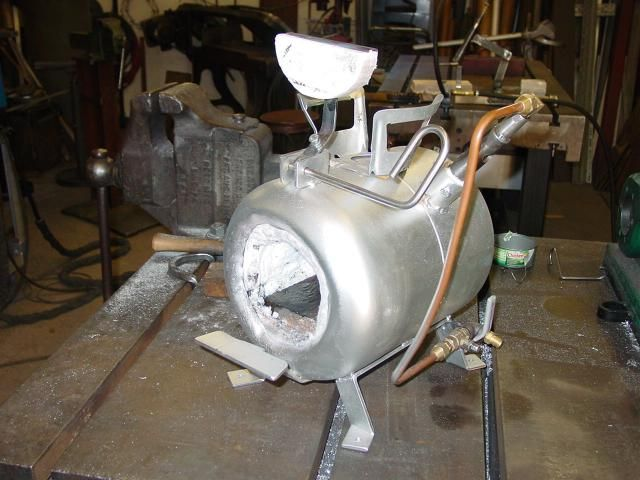 how to build a propane forge. diy propane forge | freon can with pnb burner- door open how to build a ,