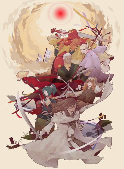 Samurai 7 Samurai, Anime