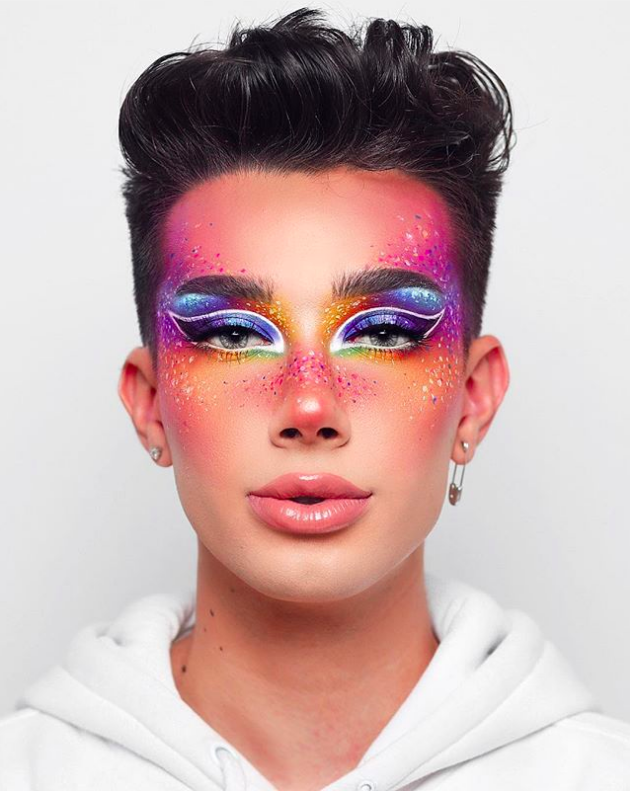 jamescharles SPRINKLES 💞 Colorful Full Face Look with