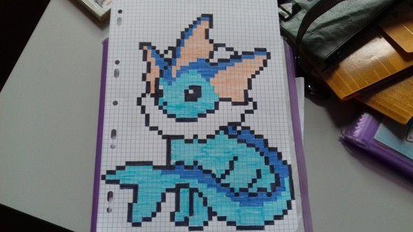 Aquali Pixel Dessin Pixel Pixel Art Anime Et Pixel Art