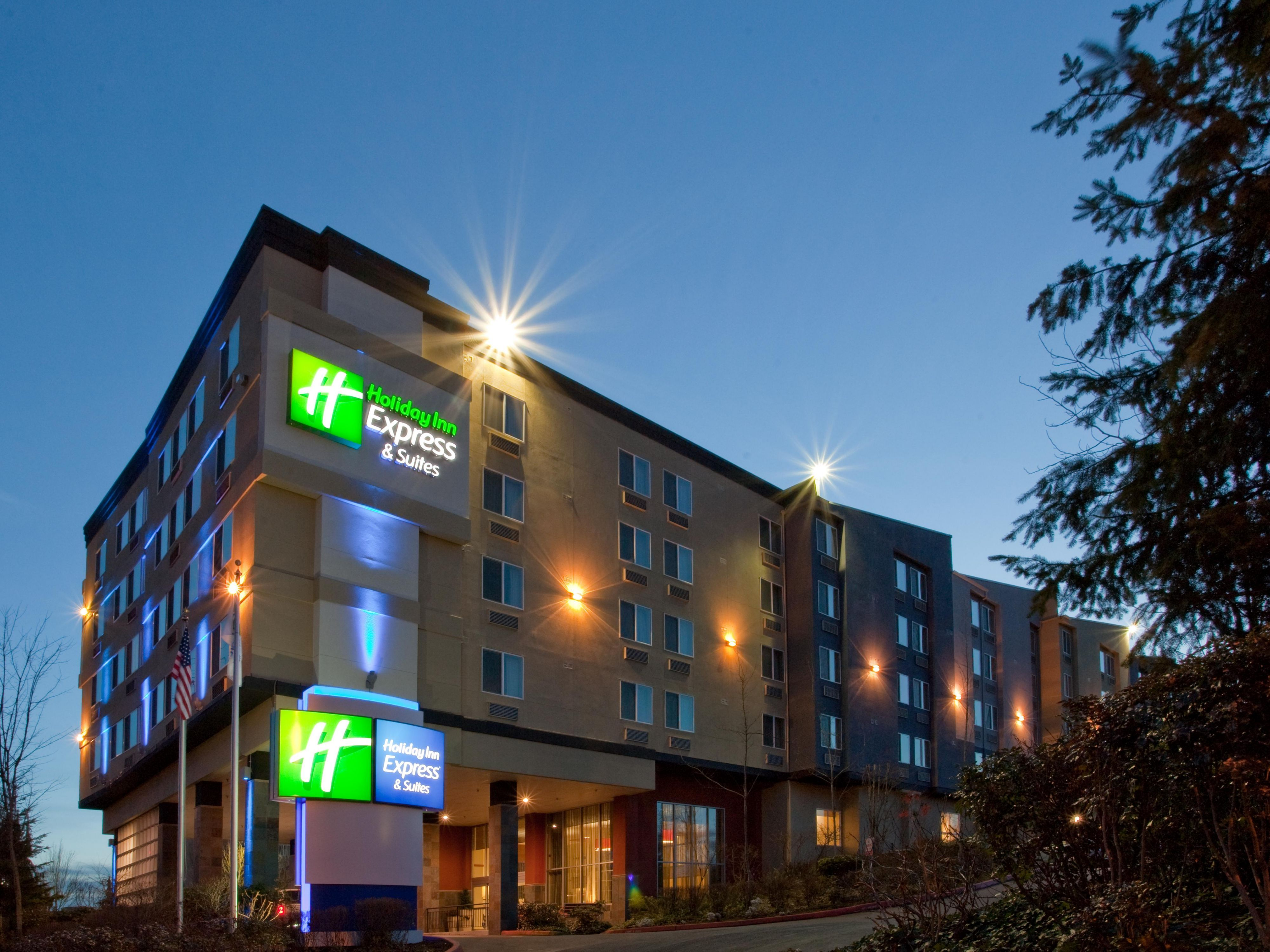 Stay Close To The Seattle Airport At Holiday Inn Express Suites