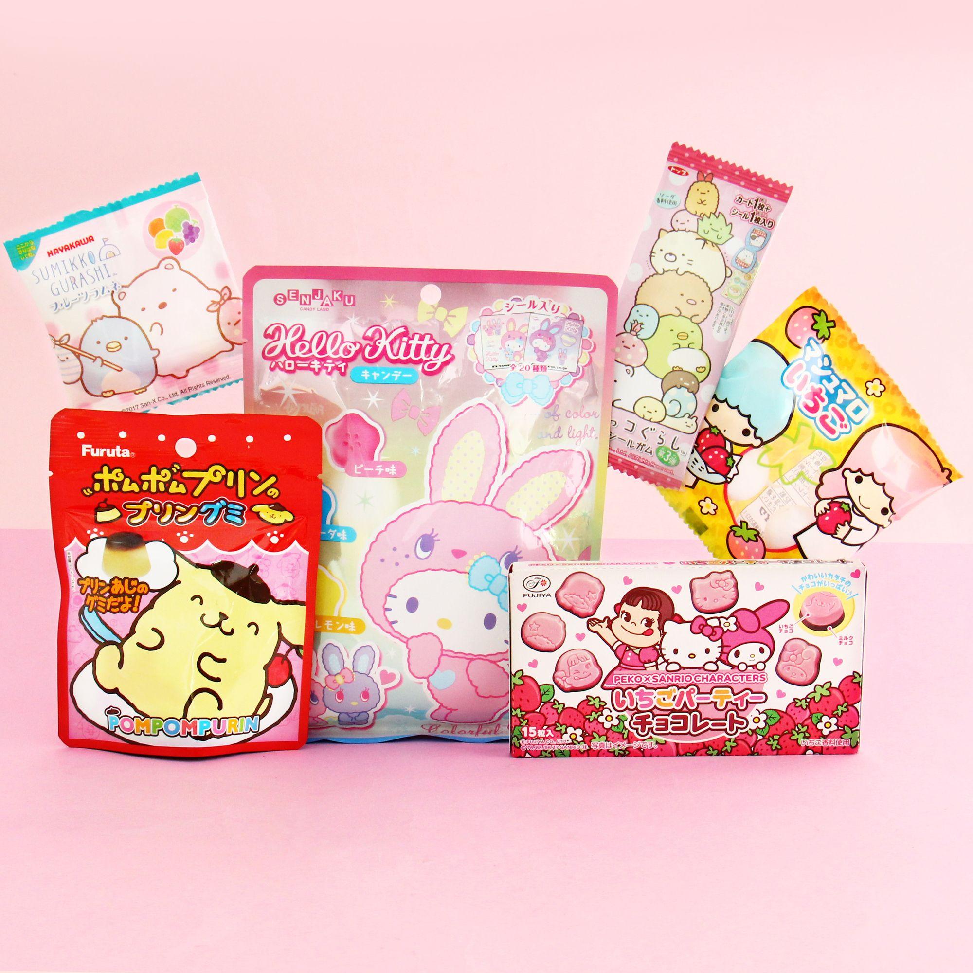 KAWAII from Japan 10 pieces Moomin Seethrough bag S