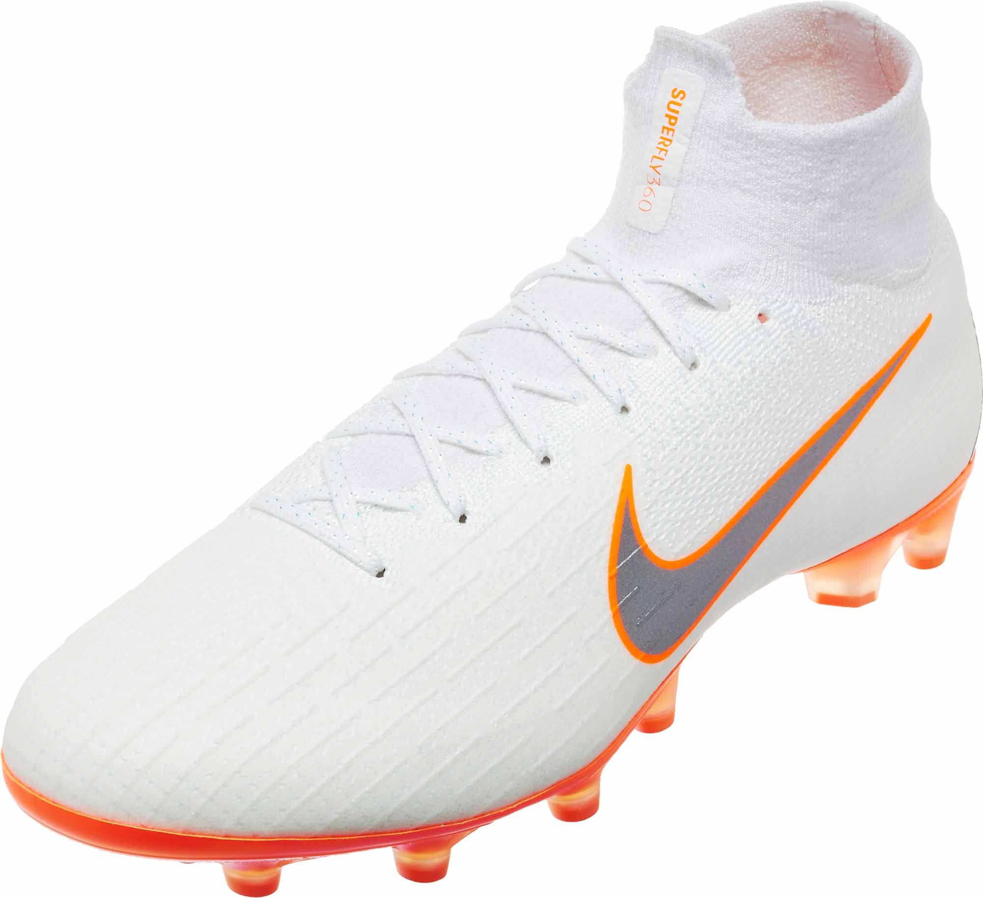 separation shoes 5ddbe 83b21 Nike Mercurial Superfly 6 Elite AG – Pro – White/Total ...