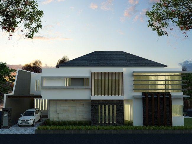 Desain rumah mewah 2 lantai home design collection pinterest desain rumah mewah 2 lantai malvernweather Gallery