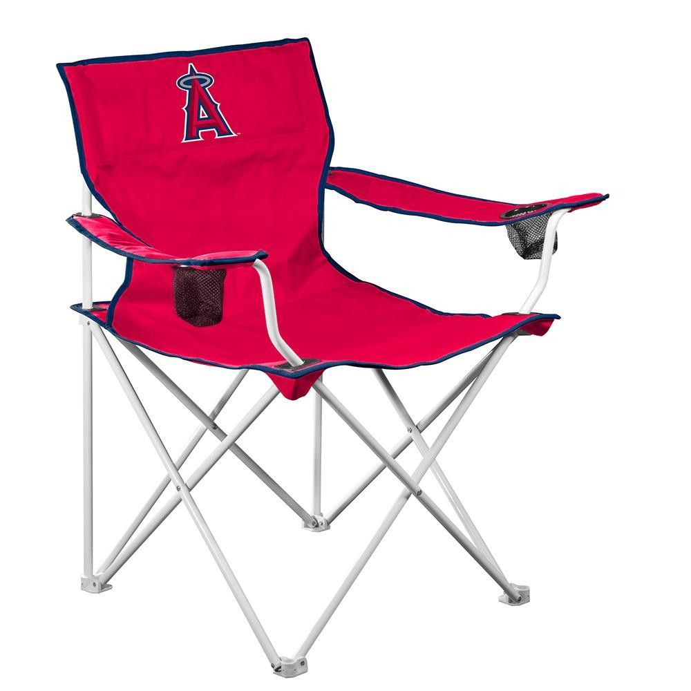 los angeles angels mlb deluxe folding chair folding chairs cup