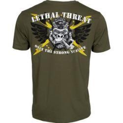 Photo of Lethal Threat Gorilla Snake T-Shirt grün Xxxl