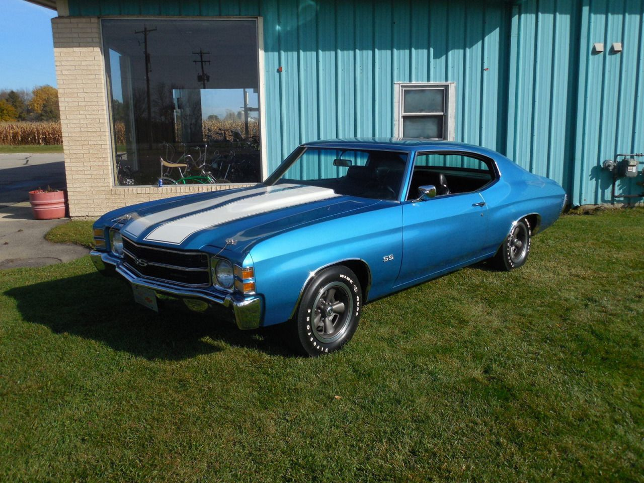 1971 chevrolet chevelle ss super sport ls3 402 big block m20 4