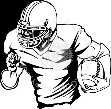 football%20player%20running | Gaver | Football player