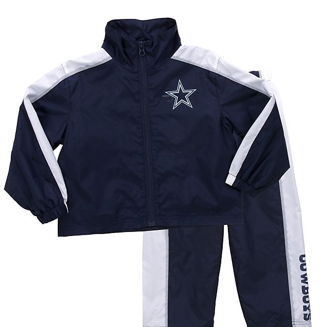 cheap for discount 97d5d c9744 NFL Dallas Cowboys Toddler Windsuit Set from shop ...