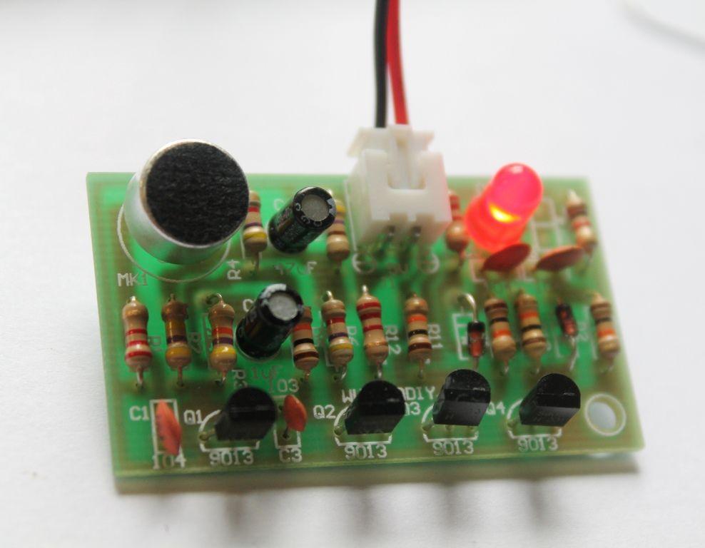 Build a simple diy clap switch diy electronics pinterest build a simple diy clap switch light projectdiy electronicsdiy solutioingenieria Gallery