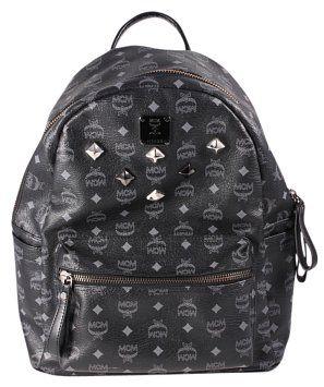 3f7646ca83c GB1029650K MCM Large Stark Backpack Top handle. Double zip top ...