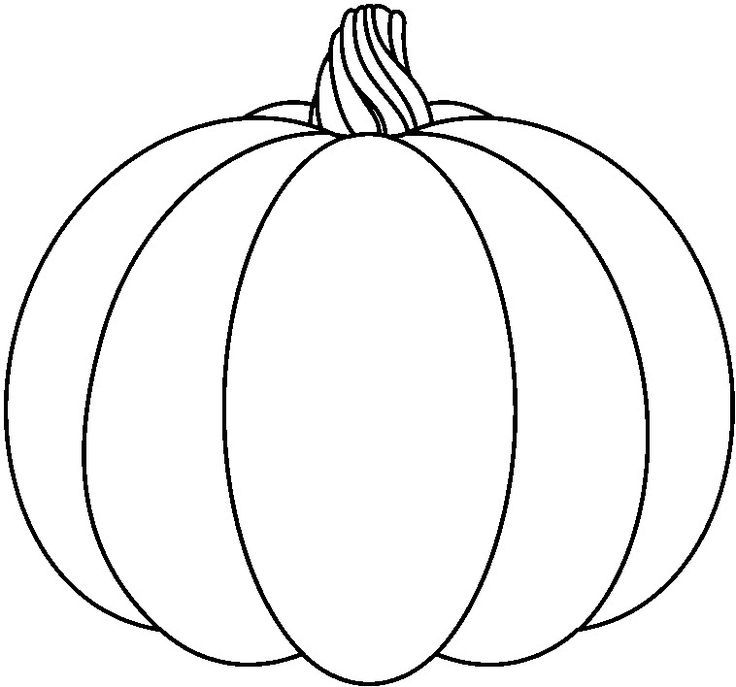 Pumpkin To Color Pumpkin Coloring Pages Fall Coloring Pages Pumpkin Coloring Sheet