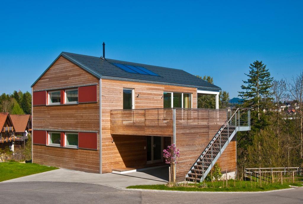 Modernes Haus Mit Holzfassade Katalog Zum Anfordern Stylondo P 22769
