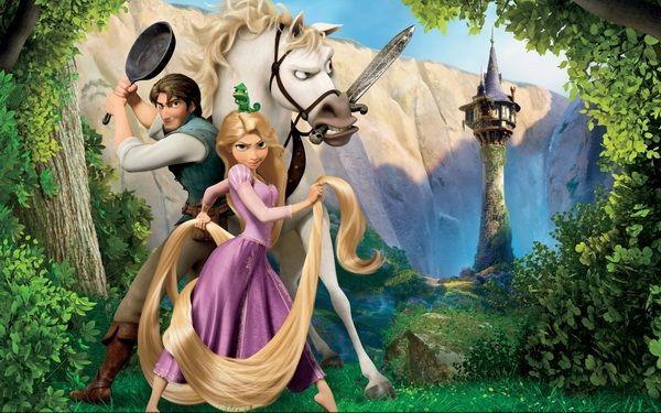 خلفيات و صور فيلم الانمي الشهير Rapunzel رابونزل Tangled بجوده عالية Tangled Wallpaper Disney Princess Movies Tangled Princess