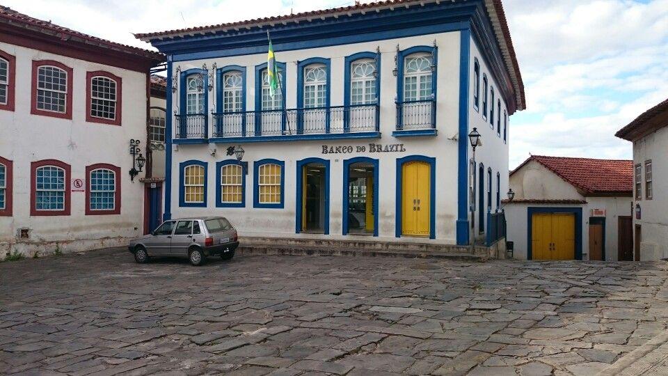 Diamantina Bb Banco Do Brasil Mg Brasil Minas Gerais Travel