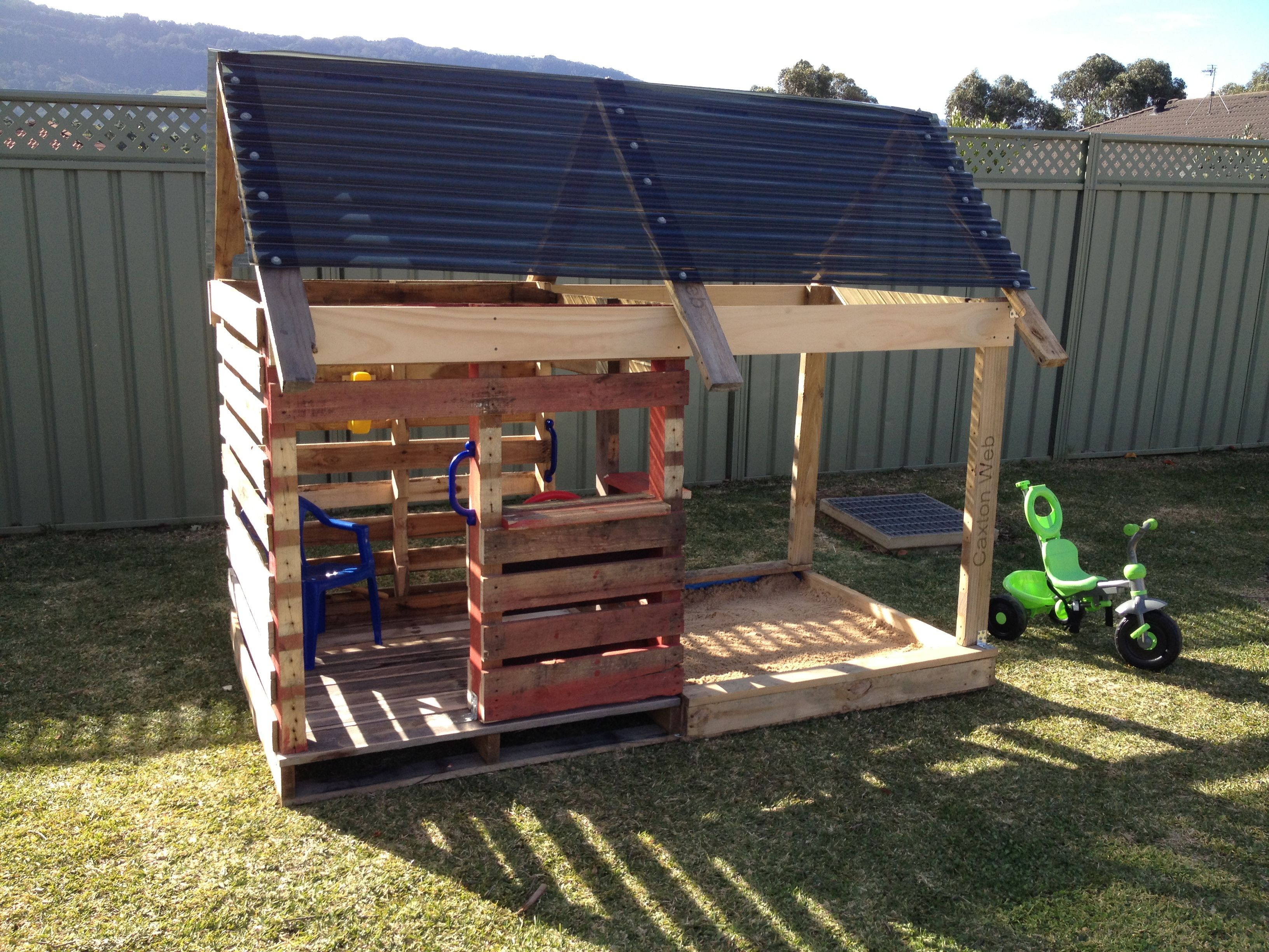 House Made From Pallets Pallet Cubby House Toys Outdoor Gumtree Australia Port